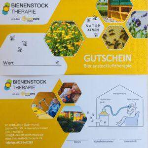 Gutschein für Bienenstocktherapie