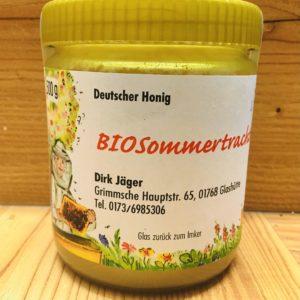 Bio Sommertrachthonig auskristallisiert 500 g