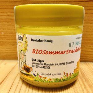 Bio Sommertrachthonig cremig 250 g