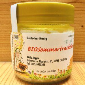 Bio Sommertrachthonig auskristallisiert 250 g
