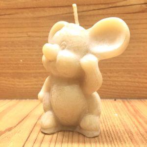 Bienenwachskerze Maus