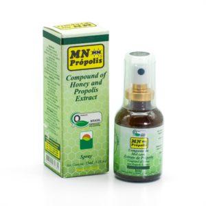 Bio Propolis Rachenspray mit Honig